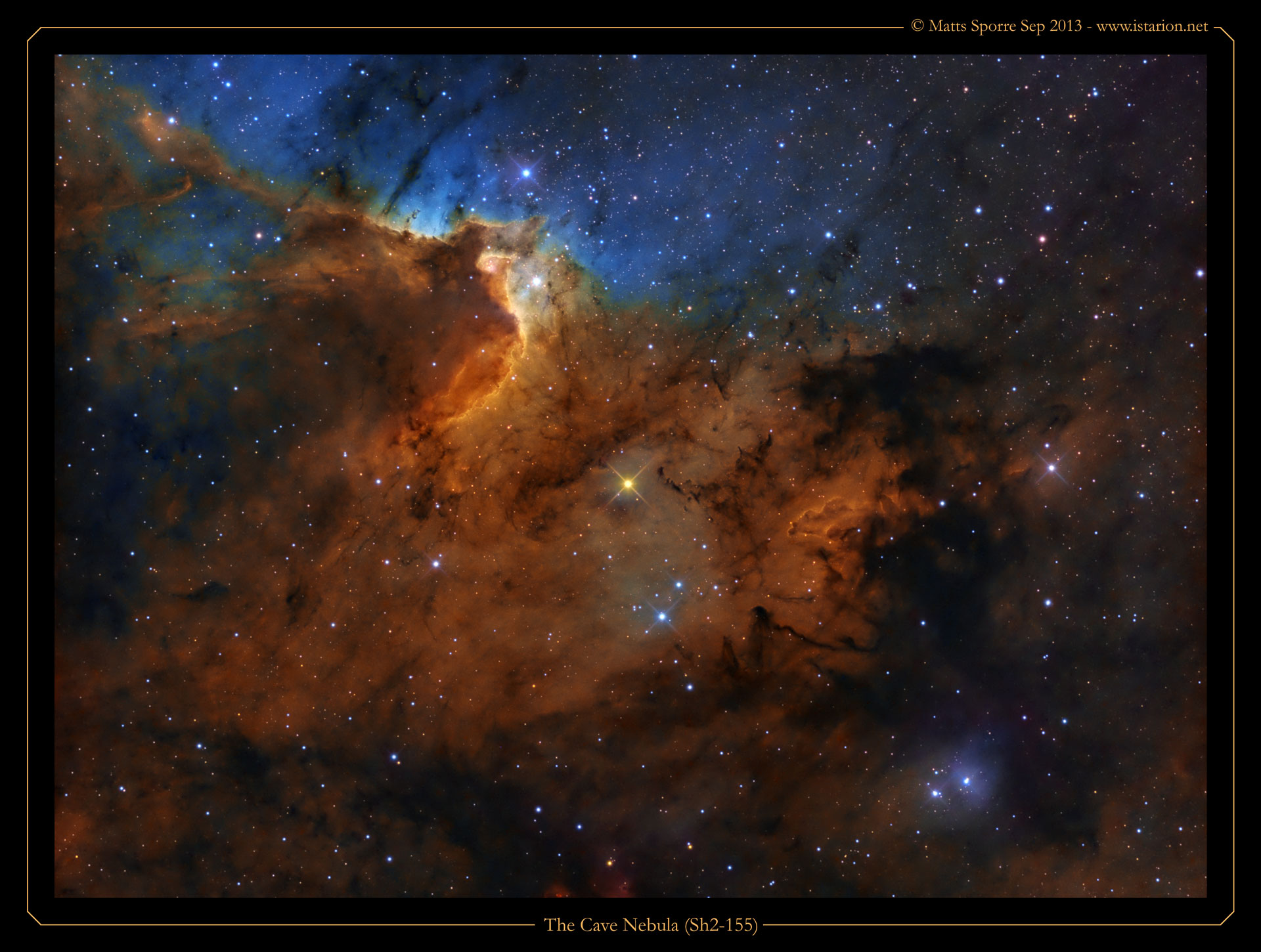 cave nebula narrow band - photo #9
