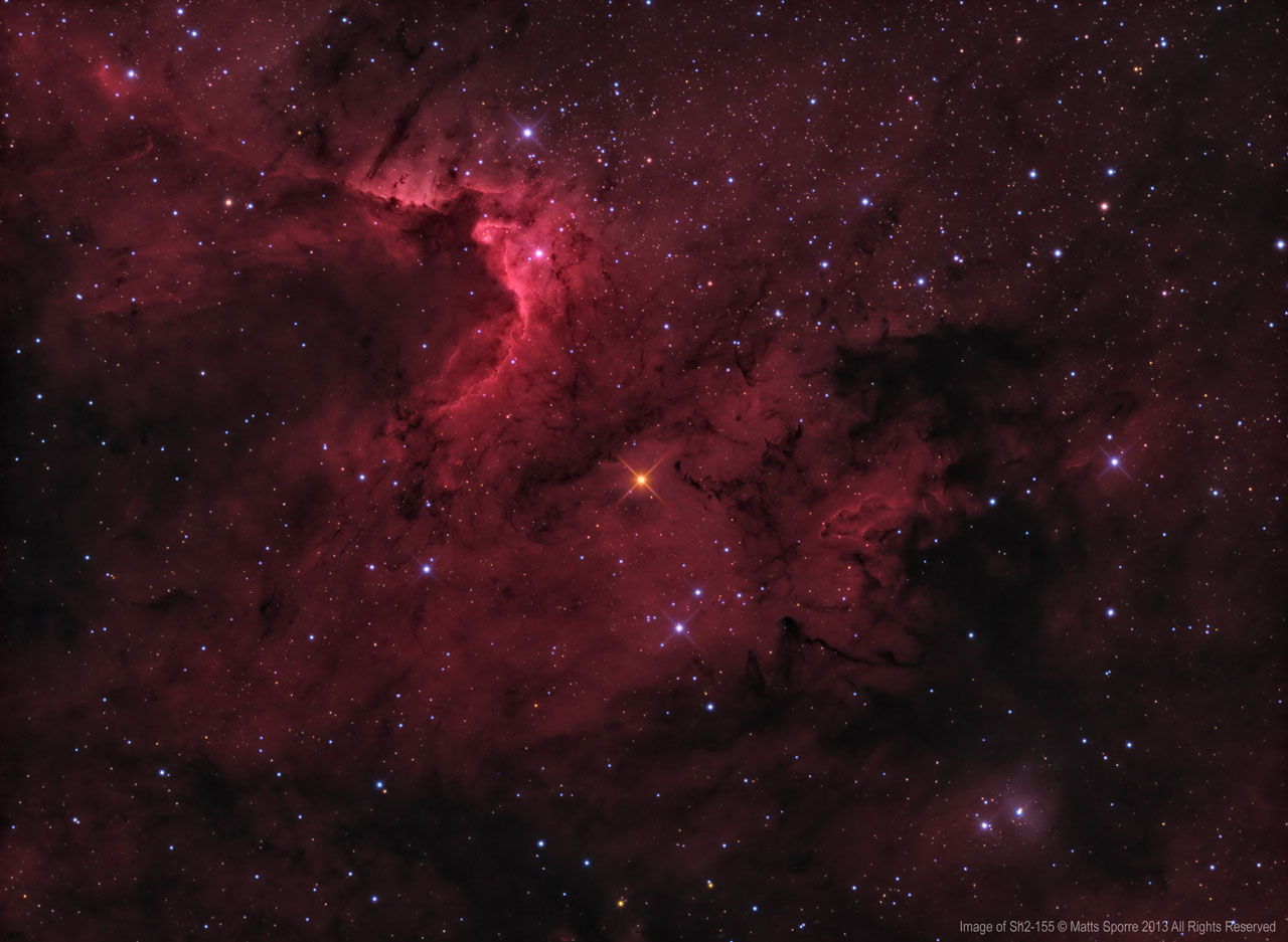 cave nebula narrow band - photo #26